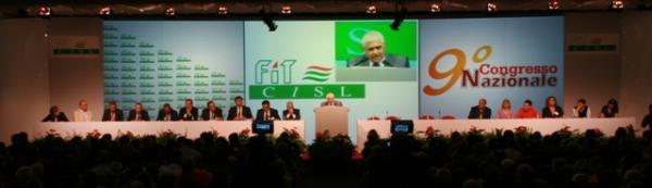 Conference System e proiezioni per FIT CISL