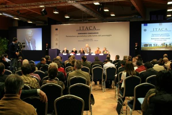 Impianto luci e doppia videoproiezione per il convegno ITACA
